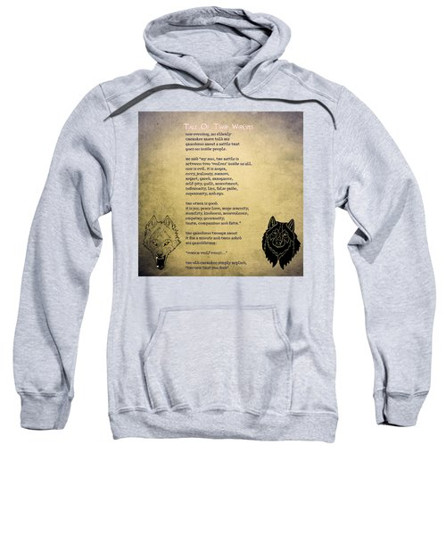 Tale Of Two Wolves - Art Of Stories Sweatshirt