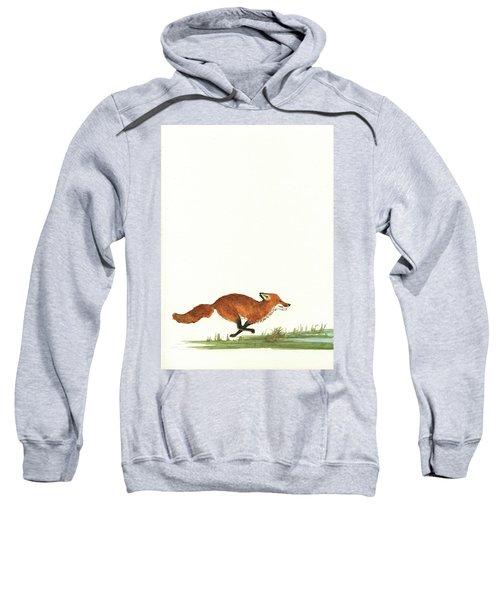 The Fox And The Pelicans Sweatshirt