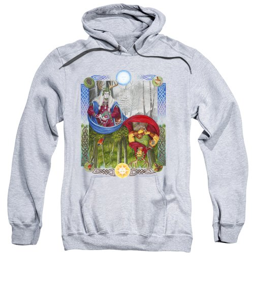 The Holly King And The Oak King Sweatshirt