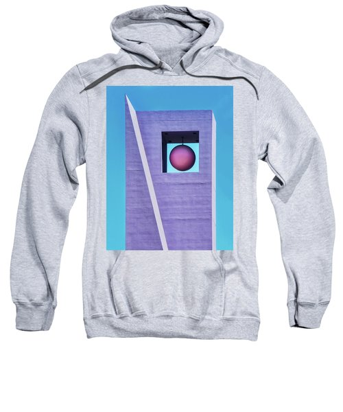 The Purple Tower At Pershing Square Sweatshirt