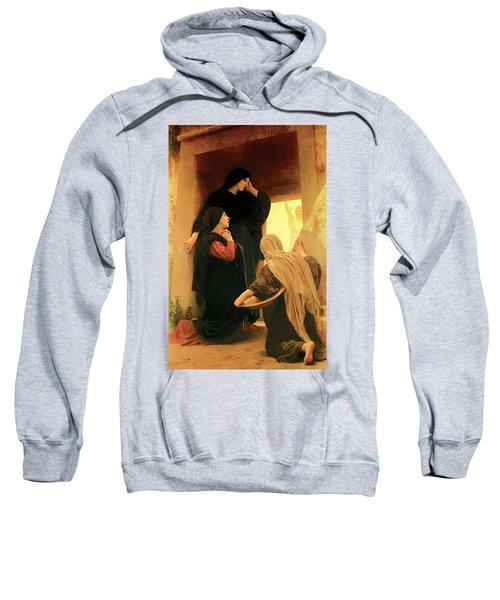 Three Marys At The Tomb Sweatshirt