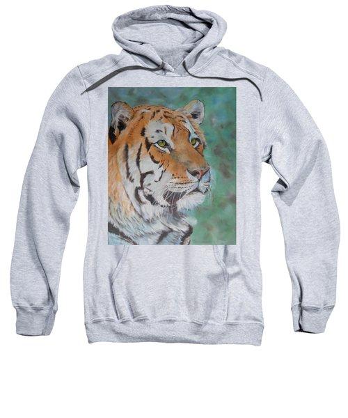 Tiger Portrait Sweatshirt