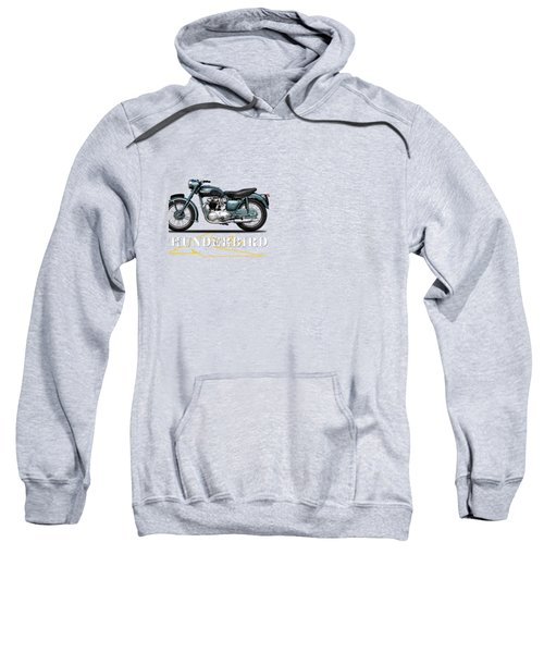 Triumph Thunderbird 1955 Sweatshirt by Mark Rogan