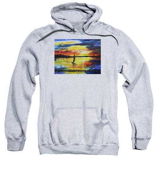 Tropical Sunset Sweatshirt