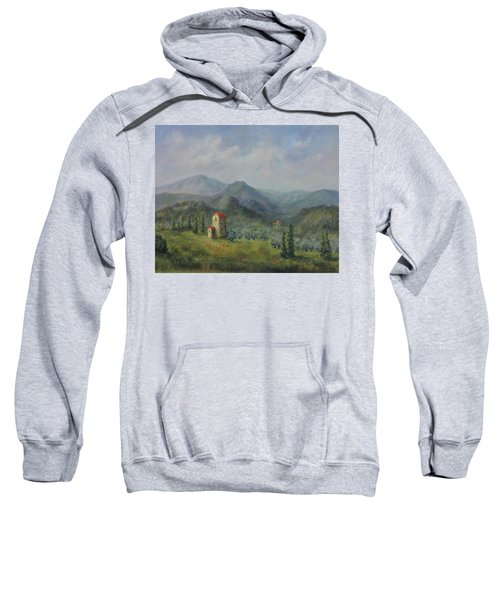 Tuscany Italy Olive Groves Sweatshirt