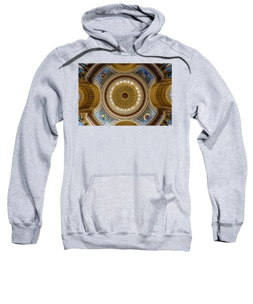 Under The Dome Sweatshirt by Randy Scherkenbach