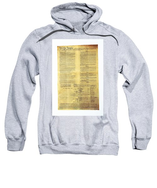 U.s Constitution Sweatshirt