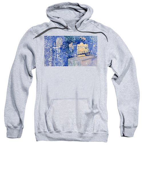 Venice, Night Of The Festival Of The Redeemer Sweatshirt