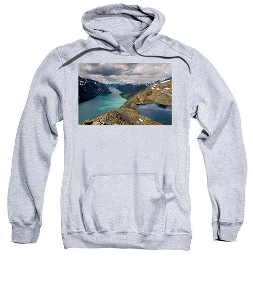 View From Besseggen Ridge Sweatshirt