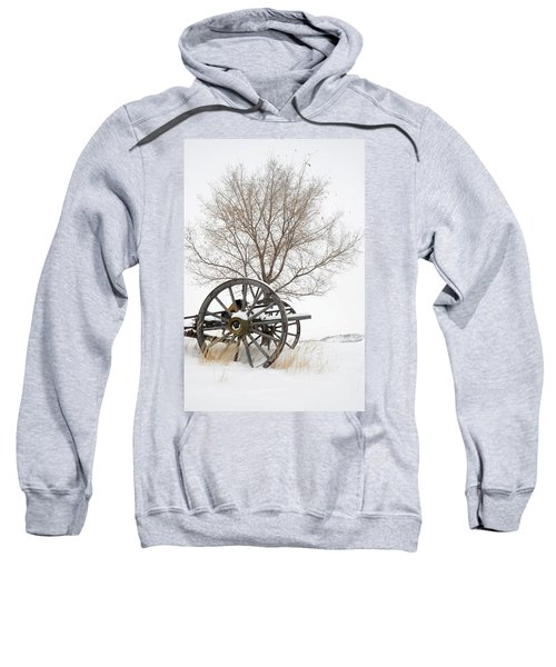 Wagon In The Snow Sweatshirt