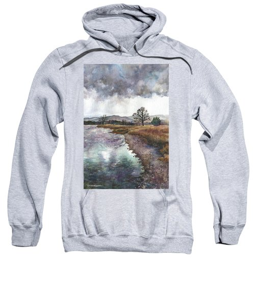 Walden Ponds On An April Evening Sweatshirt
