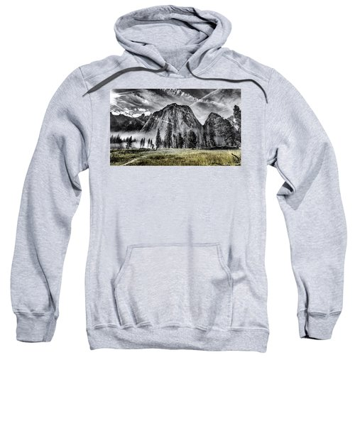 Sweatshirt featuring the photograph Yosemite Dawn by Chris Cousins