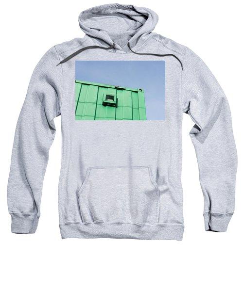 Green Metal Sweatshirt