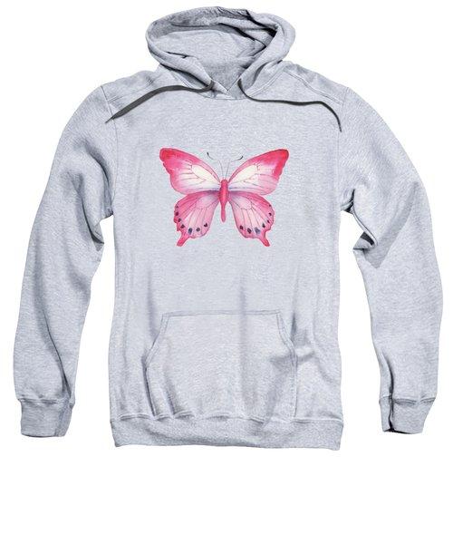 108 Pink Laglaizei Butterfly Sweatshirt
