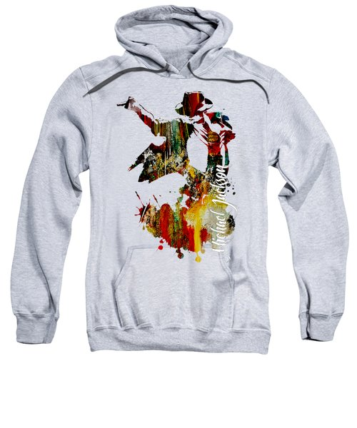 Michael Jackson Collection Sweatshirt by Marvin Blaine