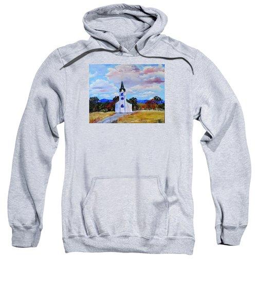 #17 St. Johns Historic Church On Hwy 69 Sweatshirt