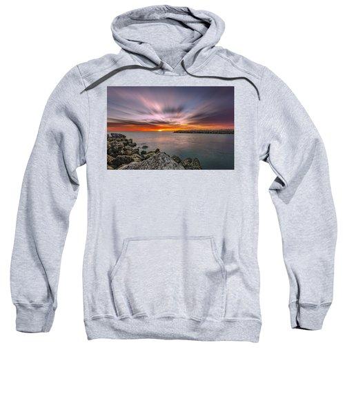 Sunst Over The Ocean Sweatshirt