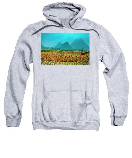 Beautiful Countryside Scenery In Autumn Sweatshirt