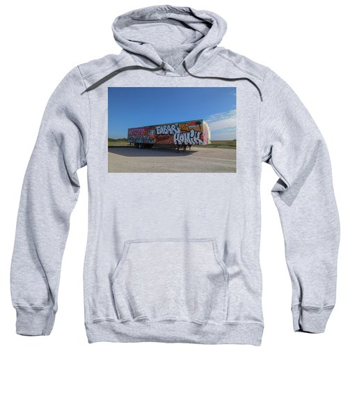 18 Wheeler Art Sweatshirt