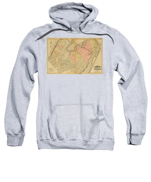 1879 Inwood Map  Sweatshirt