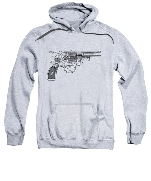 1896 Wesson Safety Device Revolver Patent Minimal - Vintage Sweatshirt