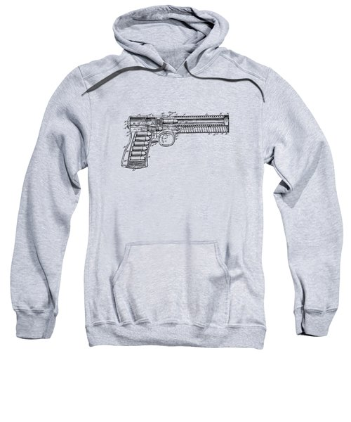 1903 Mcclean Pistol Patent Minimal - Vintage Sweatshirt