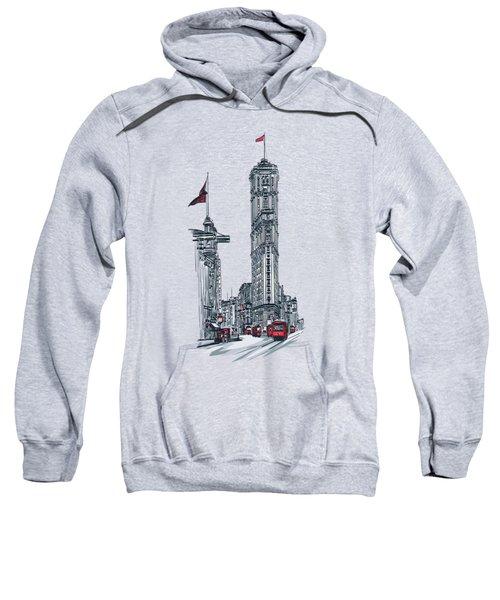 1908 Times Square,ny Sweatshirt by Andrzej Szczerski