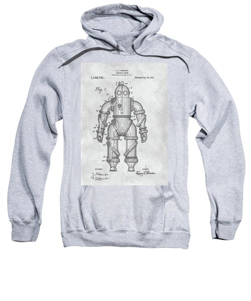 1915 Diving Suit Patent Sweatshirt