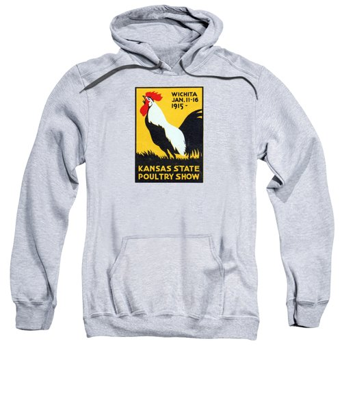 1915 Kansas Poultry Fair Sweatshirt by Historic Image
