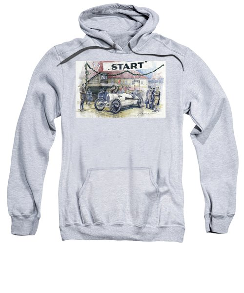 1924 Zbraslav-jiloviste Regularity Ride To The Top Start Walter W-0 Sweatshirt