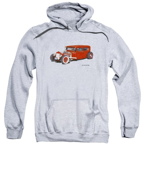 1928 Ford Tudor Jalopy Ratrod Sweatshirt