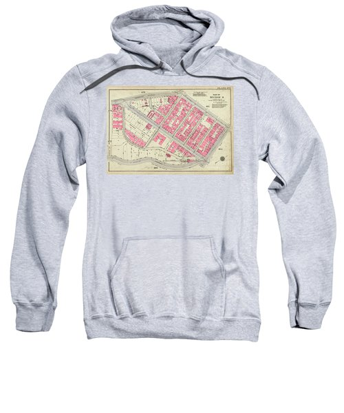 1930 Inwood Map  Sweatshirt