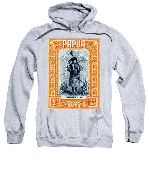 1932 Papua Motuan Stamp Sweatshirt