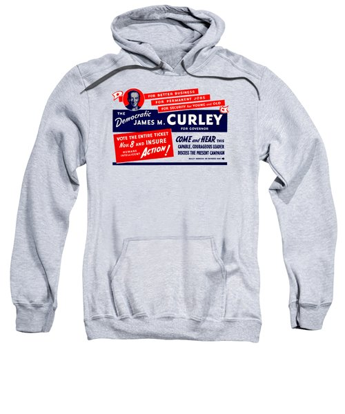 1934 James Michael Curley Sweatshirt by Historic Image