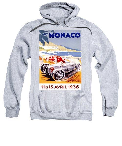 1936 F1 Monaco Grand Prix  Sweatshirt