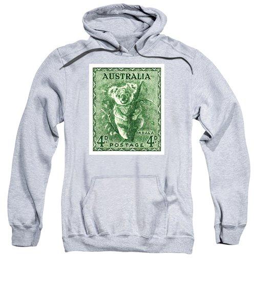 1940 Australia Koala Postage Stamp Sweatshirt