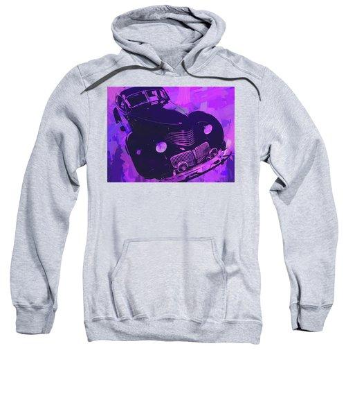 1940 Hupp Skylark Violet Pop Sweatshirt