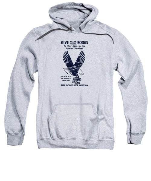 1943 Victory Book Campaign Sweatshirt by War Is Hell Store