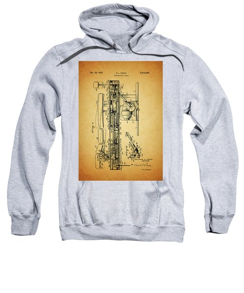 1952 Chiropractic Table Patent Sweatshirt