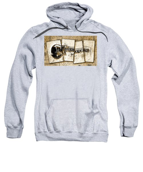 1955 Les Paul Custom Quadtych Sweatshirt