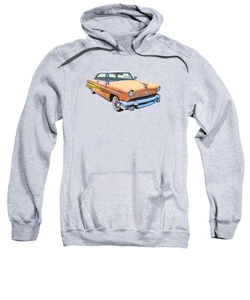 1955 Lincoln Capri Fine Art Illustration  Sweatshirt