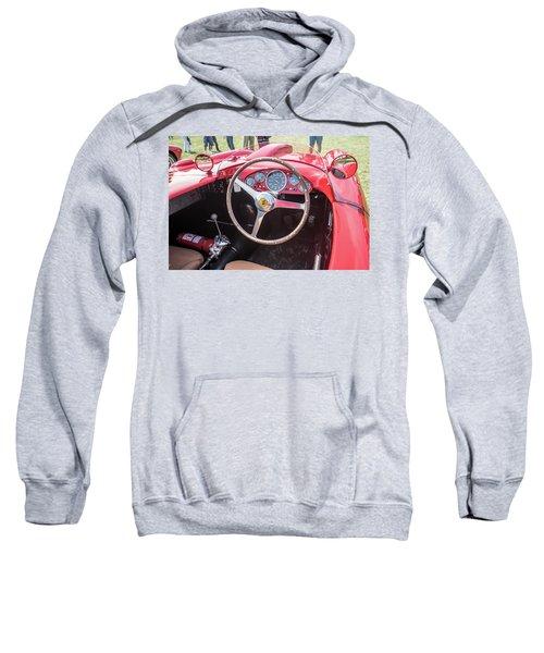 Sweatshirt featuring the photograph 1956 Ferrari 290mm - 4 by Randy Scherkenbach