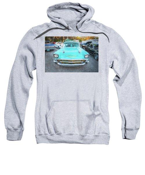 1957 Chevrolet Bel Air 283  Sweatshirt