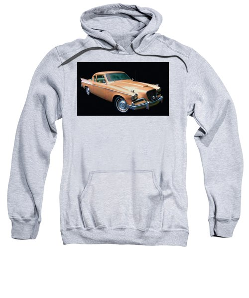 1957 Studebaker Golden Hawk Digital Oil Sweatshirt
