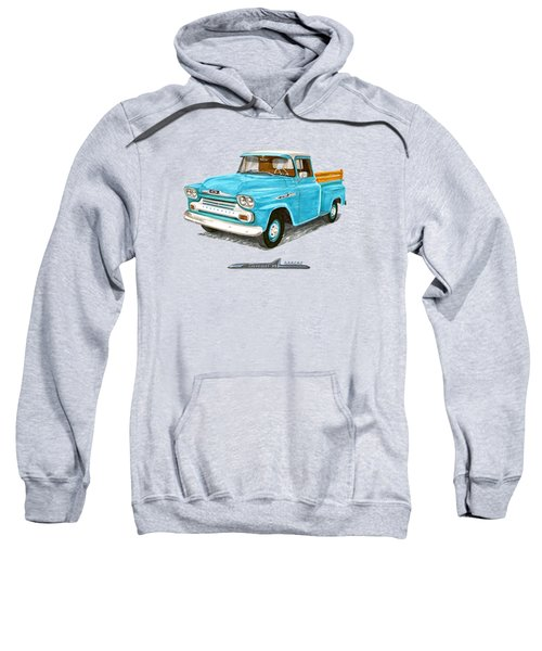 1958 Apache Pick Up Truck Sweatshirt