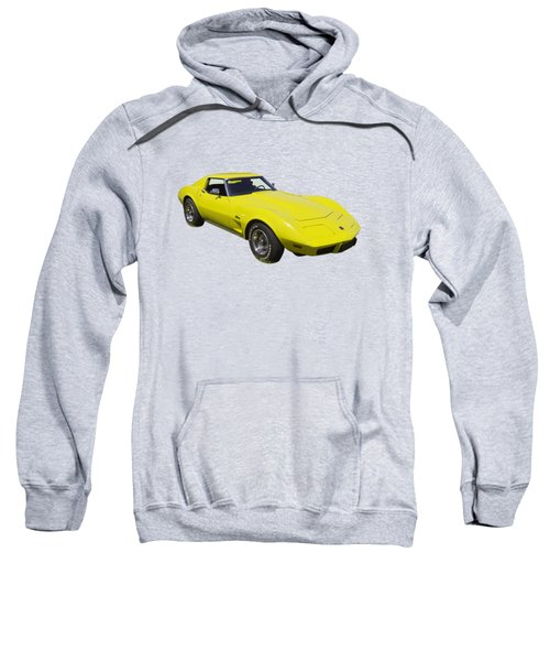 1975 Corvette Stingray Sportscar Sweatshirt
