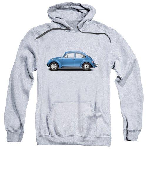 1975 Volkswagen Super Beetle - Ancona Blue Metallic Sweatshirt