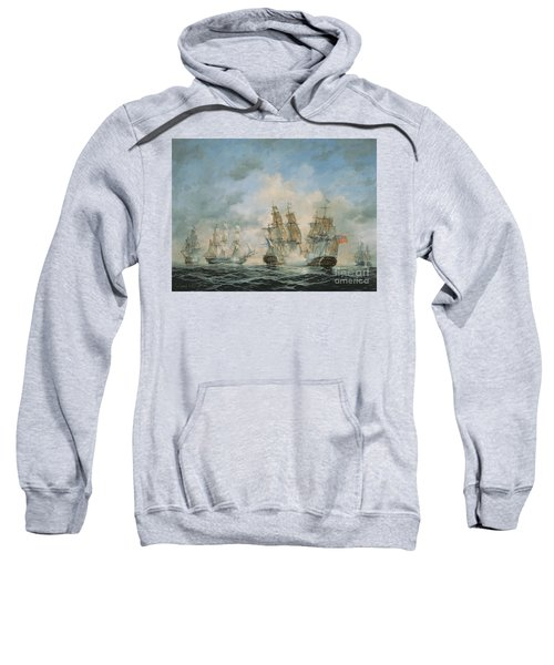 19th Century Naval Engagement In Home Waters Sweatshirt