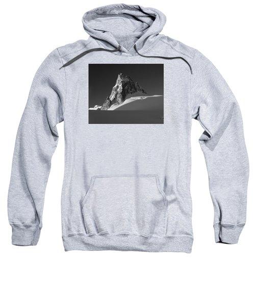 1m2716-bw Sunrise On Pigeon Spire Sweatshirt