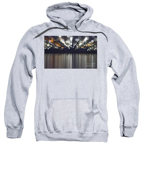Abstract Light Texture With Mirroring Effect Sweatshirt